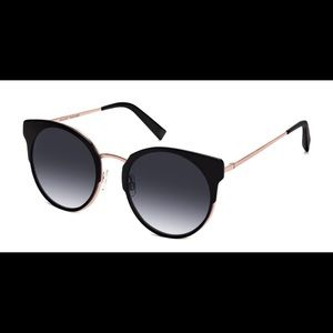 Warby Parker black Cleo sunglasses
